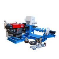 Buy cheap Automatic Fish Feed Making Machine , 220V 380V Floating Fish Feed Machine from wholesalers