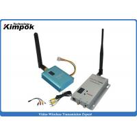 Buy cheap 1200 Meters 700mW COFDM Wireless Transmitter for RC Helicopters 12 Channels from wholesalers