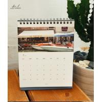 Buy cheap Glossy Paper Landscape Custom Calendar Printing for Office from wholesalers