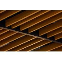 Buy cheap U Shape Square  Aluminum Baffle Ceiling Wood Pattern   40×100 / 50×100 product