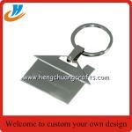 Buy cheap House shaped metal keychain/key holder, house shape keychain with custom logo from wholesalers