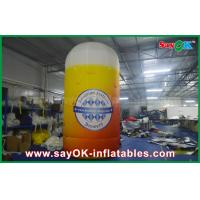 Buy cheap 4m Custom Inflatable Products Inflatable Bottle / Cup U Shape Custom Printed from wholesalers
