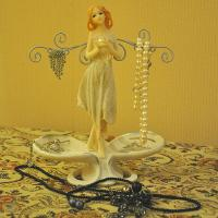 Buy cheap New fantastic lady Jewelry holder figurines from wholesalers