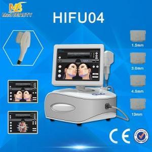 HOTTEST! Factory wholesale portable hifu face skin lifting tighten machine hifu machine ultrasonic facial