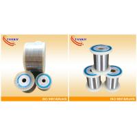 NiCr60/15 Nicr Alloy ,  Nickel Chromium Resistance Wire 0.05mm-10.0mm Diameter