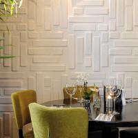 Buy cheap Hotel Interior 3D Decorative Wall Panels product