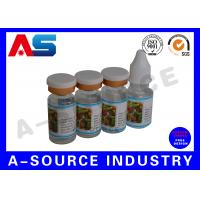 Buy cheap Custom Private Vial Label for Essential Oil storage and Steroids Kit Packing from wholesalers