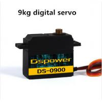 Buy cheap 9kg Metal Gear RC Servos with Dual BB Bearing Type , 36.6 x 20.2 x 40.7mm from wholesalers
