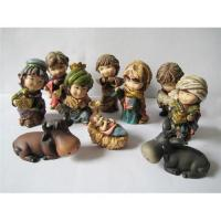 Buy cheap Resin nativity set and Holy family gifts product