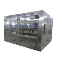 Buy cheap Soda Beverage Bottle Filling EquipmentSmall Scale 3IN1 Machine Adjustable Speed from wholesalers