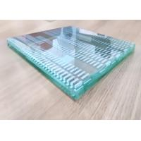 Buy cheap Decorative Curved Tempered Glass , Pvb Film Laminated Glass 12 Millimeter Thick from wholesalers