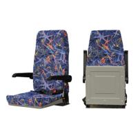 Buy cheap Curved Back Folding Bus Seat , Coach Bus Seats Flame Retardant High Resilience from wholesalers