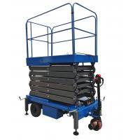 Buy cheap Platform Height 11m Mobile Scissor Lift With Electrical Driving System Loading Capacity 450kg from wholesalers