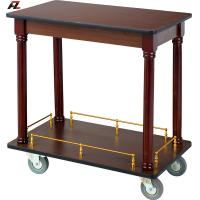 Buy cheap Walnut Kitchen Trolley-Hotel Service Trolleys from wholesalers