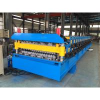 Buy cheap IBR Roof Sheeting Double Layer Roll Forming Machine 0.4mm - 0.8mm Q230-550 from wholesalers