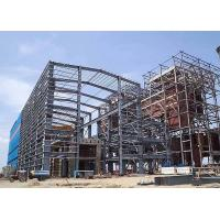 Buy cheap New Design Steel Frame Structure Low Carbon Steel For High Rise Office from wholesalers