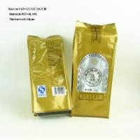 Buy cheap eco-friendly side gusset coffee bags with valve from wholesalers