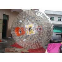 Buy cheap Crazy Giant Human Hamster Ball , Grass / Hill PVC Water Roller Ball from wholesalers