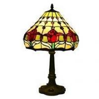 Buy cheap TL120005-tiffany lamp tulip flower tiffany glass table lighting for home from wholesalers