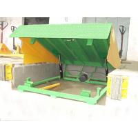 Buy cheap 6000kg hydraulic dock ramp with 0.5m Lifting height for logistics , warehouse from wholesalers