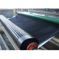 Buy cheap 100%  material grass drainage mat, drainage cell drainage mat, composit drainage board with geotextile from wholesalers