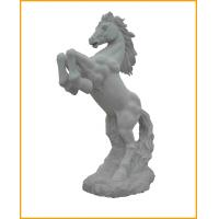 Buy cheap Hand-crafted White Stone Horse Sculpture For Sale from wholesalers