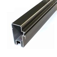 High Precise Reliable Aluminum Curtain Wall Profile In Different Surface Treatment