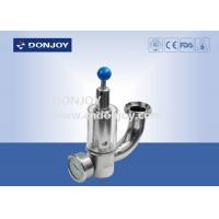 Buy cheap 316L Pressure Safety Valve With Pressure Guage exhaust valve with glass window from wholesalers