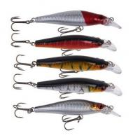Buy cheap New Plastic Moribund State Simulation Tackle Plastic Fishing Lures With 2 Hooks Free Shipp from Wholesalers