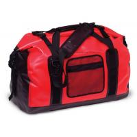 65L Red Tarpaulin Waterproof Duffel Bag 1.3KG Weight For Cycling And Hiking
