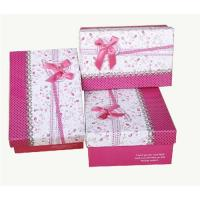 Buy cheap Fashion gift paper box from wholesalers