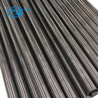 China full carbon fiber tube for various function, Carbon Fiber 3K Tube with Red Silk on sale