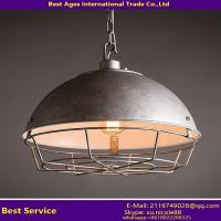 Buy cheap American Style Loft Retro Ball Shade Iron Pot Cover Industrial Chandelier from wholesalers