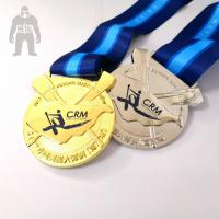 Buy cheap Sports Kids Basketball Medals  Plated  Finish  Gold/ Silver  Rose Color Available from wholesalers