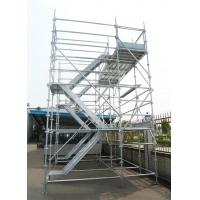 Buy cheap Dynamic Frame Stair Tower Aluminium Construction Scaffolding , Fast packaged Simple from wholesalers