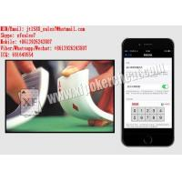 Buy cheap XF iPhone 6 Poker Shuffling Software For Unmarked Playing Cards from wholesalers