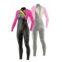 Buy cheap Women Waterproof Neoprene Stitching Wetsuits 4 / 3 mm with Mesh Skin from wholesalers