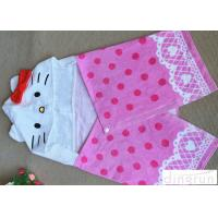 Buy cheap Full Reactive Toddlers Hooded Poncho Towels Skin Friendly 280-500gs from wholesalers