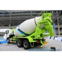 Buy cheap Auman ETX 10 Cbm 6 X 4 Truck Portable concrete mixer lorry 9 Speed Gearbox from wholesalers