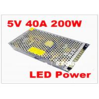 Buy cheap MeanWell 200W 5V 40A Ultra Thin Waterproof LED Power Supply for SMD DIP LED Screen from wholesalers