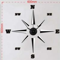 Buy cheap EVA fashion wall clock, sticker clock cheap for sale from wholesalers