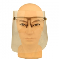 Buy cheap ISO13485 Eye Protection Transparent Disposable Face Shield from wholesalers