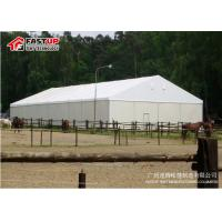 Buy cheap Amazing Marquee Event Tent , Wedding Party Tent With Lining Curtains Decoration product