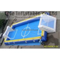 Buy cheap Waterproof Inflatable Sports Arena , Red Inflatable Soccer Field from wholesalers