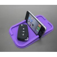 Buy cheap Multi Function Purple Car Phone Stand Holder Anti Slip Silicone Phone Holder For Auto Accessories Gift from wholesalers