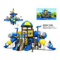 Buy cheap Amusement Large Garden Slide Space Slide Playground For 3 - 12 Years Old from wholesalers