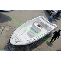 Buy cheap 5.8m fiberglass speed boat recreational fishing 40knot from wholesalers