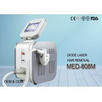 Buy cheap 808 nm Diode Laser hair Removal Machine With 8.4 Inch Touch Screen from wholesalers