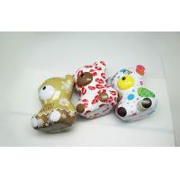 Buy cheap OEM Colorful Teddy Bear Coffee / Money Tin Box 0.25 MM Thickness from wholesalers