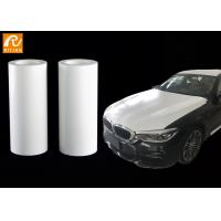 Buy cheap White 3m Automotive Protective Film , PE Material Car Paint Protection Film from wholesalers